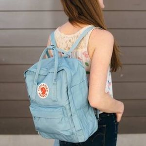 BNWT Blue Fjallraven Kanken backpack 🎒
